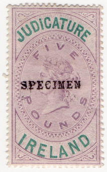 (26) £5 Lilac & Green (1882)