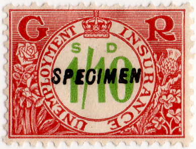 (190) 1/10d Red-Brown & Green (1931)
