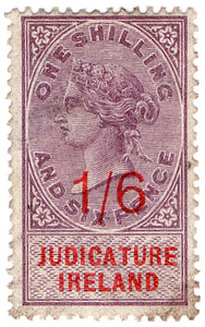 (32) 1/6d Lilac & Red (1895)