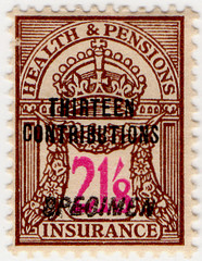 (169) 21/8d Brown & Purple (1945)