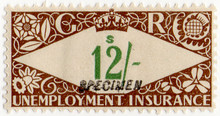 (236) 12/- Brown & Green (1939)