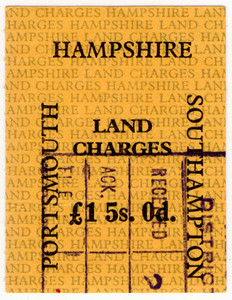 Hampshire Land Charges