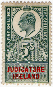 (59) 5/- Green & Red (1902)