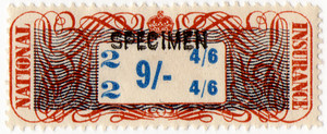 (03) 9/- Brown & Blue (1948)