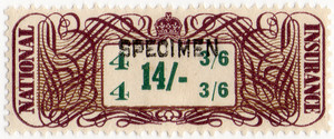 (05) 14/- Brown & Green (1948)