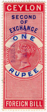 (28) 1R Red & Blue (1894)