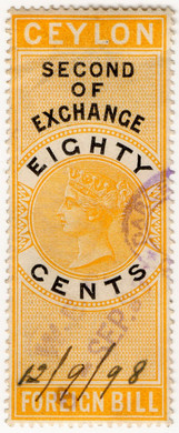(27) 80c Yellow & Black (1874)