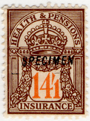(113) 14/1d Brown & Orange (1928)