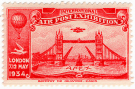 APEX International Air Post & Rocket Post Overprints