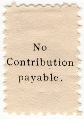 (un) No Contribution Payable