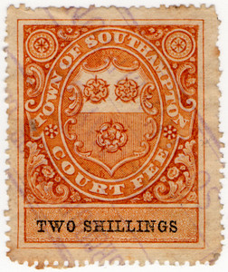 (4a) 2/- Orange-Brown & Black (1878)