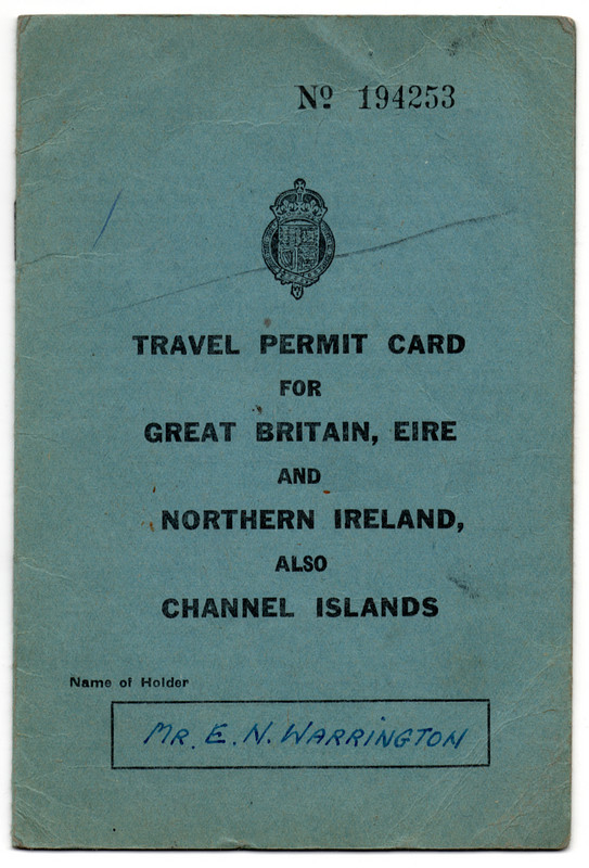Travel Permit Card