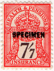 (un) 7/7d Red & Brown (1929)