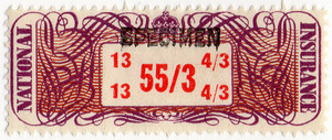 (18a) 55/3d Purple & Red (1948)