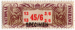 (17a) 45/6d Brown & Red (1948)