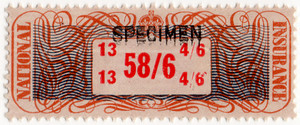 (20a) 58/6d Brown, Orange & Red (1948)