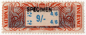 (03a) 9/- Ginger & Blue (1948)