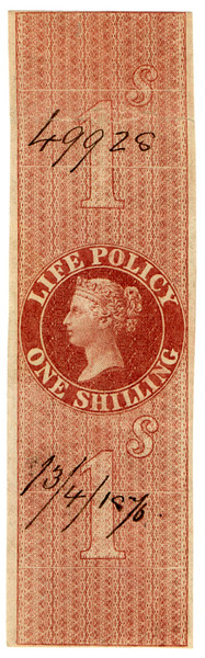 (29) 1/- Red-Brown (1869)