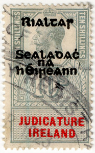(97) 10/- Green & Red (1922)