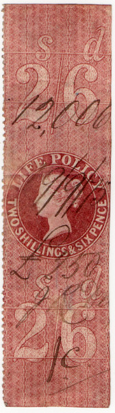 (40) 2/6d Red-Brown (1872)
