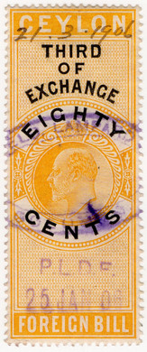 (70) 80c Yellow & Black (1904)
