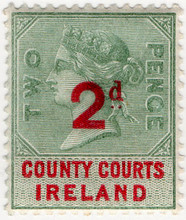 (36) 2d Green & Red (1895)
