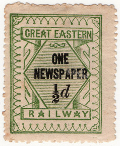 One Newspaper ½d