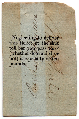 (46) Day Ticket  (1835)