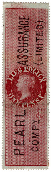 (35a) 1d Red-Brown (1872)