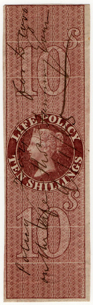 (33) 10/- Red-Brown (1869)