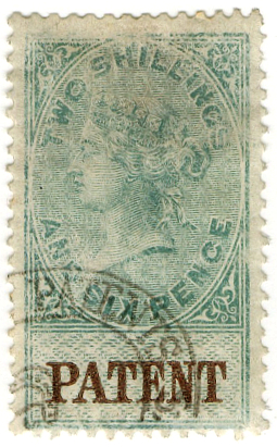 (29) 2/6d Green & Brown (1879)