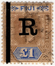 (17) £1 Brown & Blue (1910)
