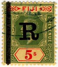 (30) 5/- Green & Red on Yellow (1914)