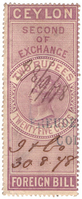 (32) 2R 25c Red-Purple (1874)
