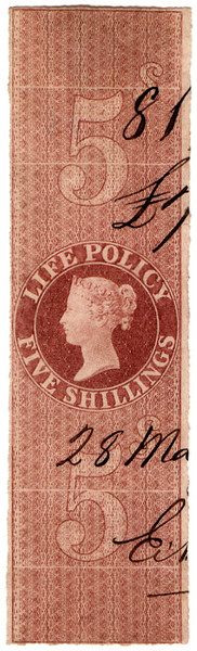 (32) 5/- Red-Brown (1869)