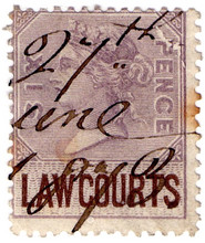 (02) 6d Lilac & Brown (1873)