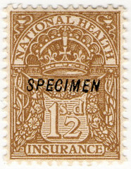 (16) 1/2d Yellow-Brown (1912)