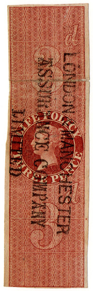 (27) 3d Red-Brown (1869)
