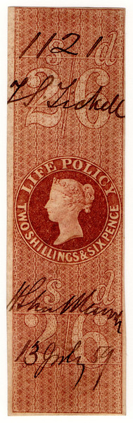 (31) 2/6d Red-Brown (1869)