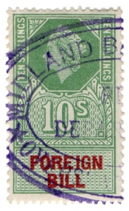 (227) 10/- Green & Red (1959)