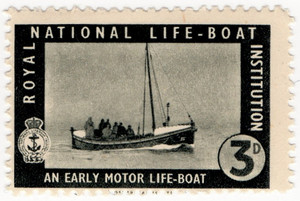 An Early Motor Life-Boat