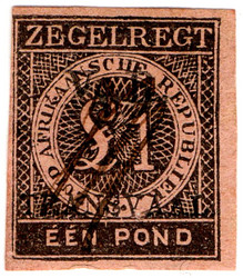(24) £1 Black on Red (1877)