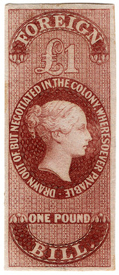 (13) £1 Purple-Brown (1862)