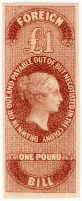 (13a) £1 Purple-Brown (1862)