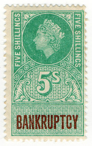 (189) 5/- Green & Purple (1959)