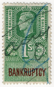 (170) 1/- Green & Purple (1947)