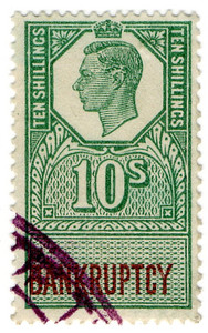 (176) 10/- Green & Brown (1947)