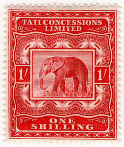 (01) 1/- Red (1896)