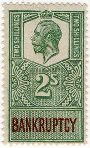 (158) 2/- Green & Brown (1917)
