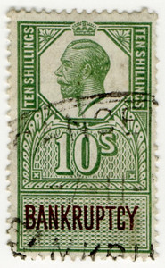 (162) 10/- Green & Brown (1917)
